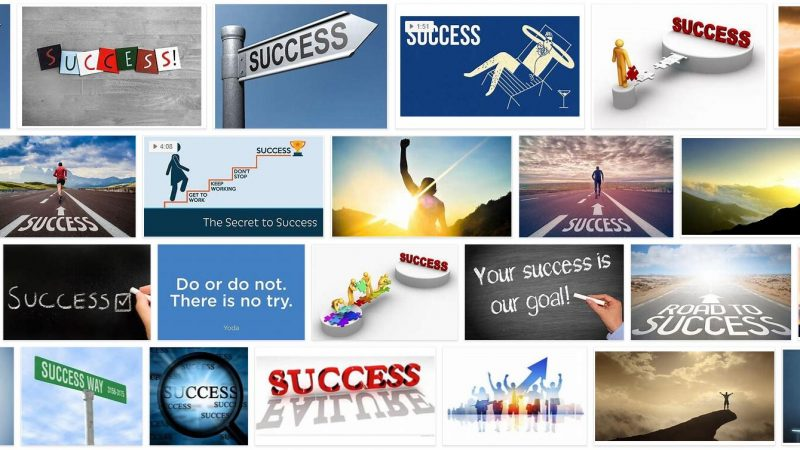 Meaning of Success in English