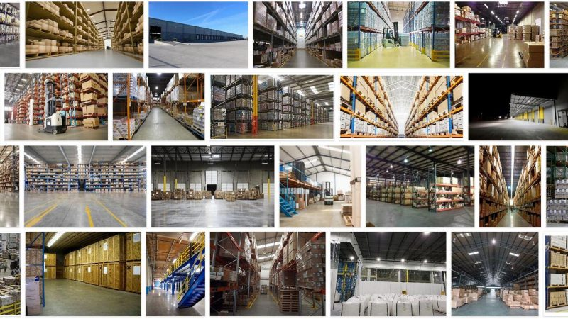 Meaning of Warehouse in English