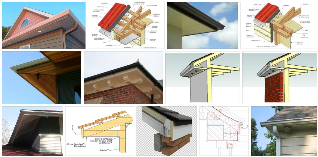 Meaning of Eaves in English