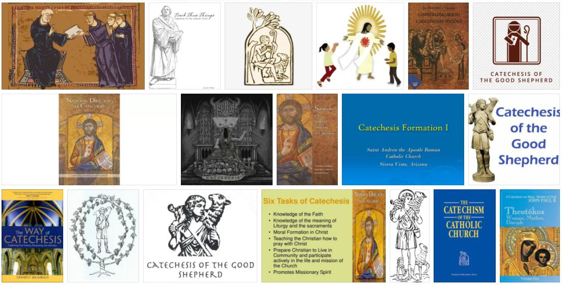 Meaning of Catechesis in English