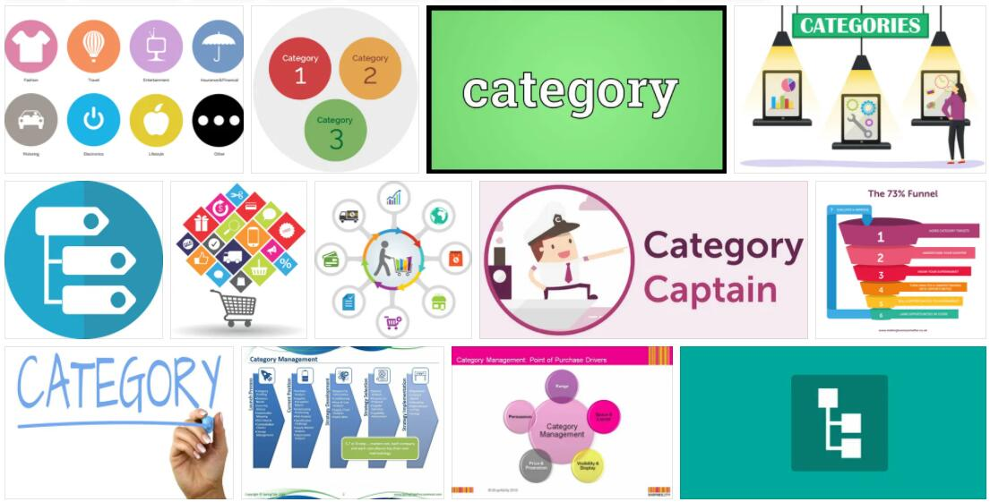Meaning of Category in English