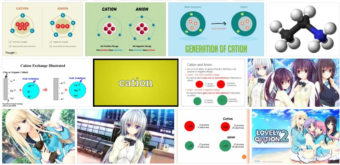 Meaning of Cation in English