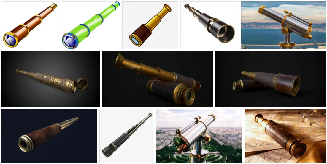 Meaning of Spyglass in English