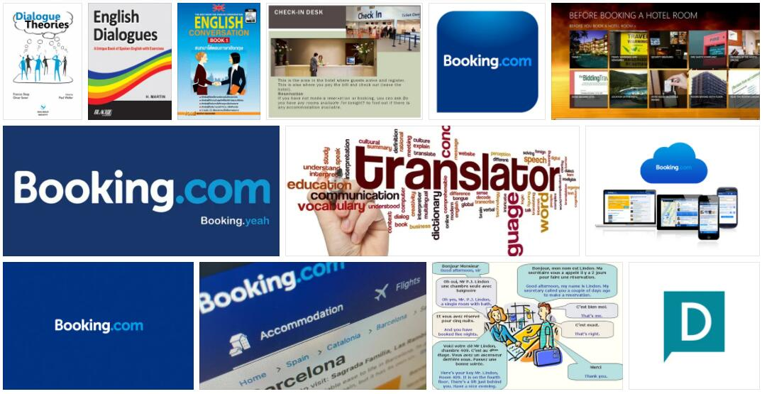 Meaning of Dialog Booking in English