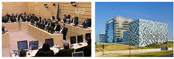 Meaning of International Criminal Court in English
